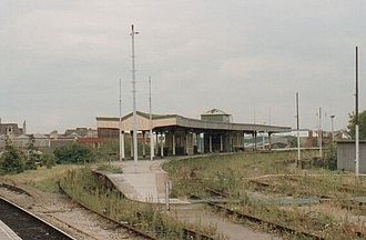 Cardiff Central railway station - Cardiff Riverside railway station in 1993, shortly before demolition.