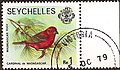 Cardinal bird Seychelles stamp.jpg