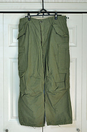 Cargo pants - Pair of cargo pants