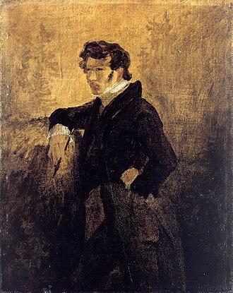 Cottbus - Carl Blechen - Self-Portrait