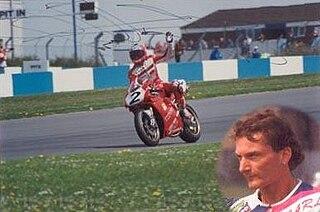 Carl Fogarty British motorcycle racer