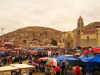 Oruro Department - Santuario de la Virgen del Socavón, Carnaval de Oruro, 2007
