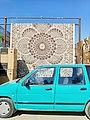 Carpet in Uzbekistan market.jpg