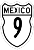 Federal Highway 9 shield