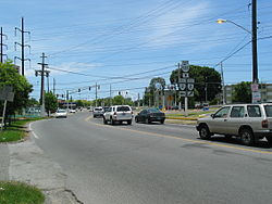 Scene in Barrio Canas at PR-585 and PR-2