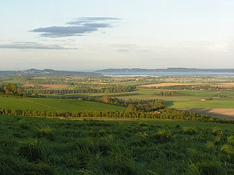 Gowrie - Carse of Gowrie looking towards Dundee
