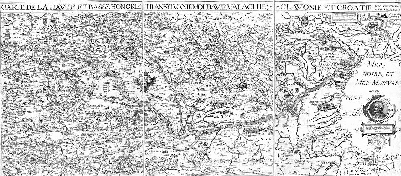 F jl carte de la haute et basse hongrie transylvanie for Haute hongrie