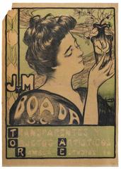Cartell publicitari. J. M. Boada. Transportes y objetos artísticos