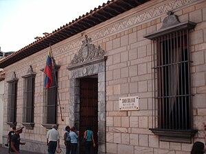 Birthplace of Simón Bolívar - Simón Bolívar's birthplace, Caracas