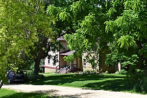 National Register of Historic Places listings in Iowa County, Wisconsin - Image: Cassidy Farmhouse