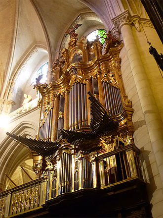 Cuenca, Spain - The Cathedral's pipe organs