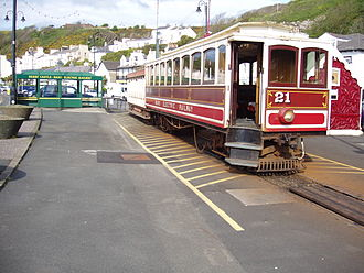 Manx Electric Railway - Winter Saloon No. 21, Derby Castle