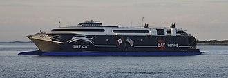 Bay Ferries - HSC Incat 059 'The Cat': Yarmouth, NS - Bar Harbor, ME, Yarmouth, NS - Portland, ME