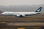 Cathay Pacific Cargo, B-LJN, Boeing 747-867F (28357897599).jpg