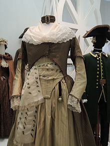 Catherine II's dress for movie Fort Ross (priv. coll. D.S. Andreev) 01.JPG