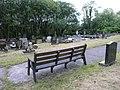 Cemetery above Cwmtwrch - geograph.org.uk - 1353160.jpg