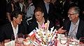Cena que ofrecen el Excmo. Sr. Juan Manuel Santos Calderón, Presidente de la República de Colombia y su esposa, Sra. María Clemencia Rodríguez. (8803668510).jpg
