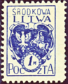 Central Lithuania 1920 MiNr 002A B002.png