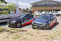 Central Metropolitan (CLM 237) and North West Metropolitan (NWM 271) region Highway Patrol Holden VF Commodore SS at Wagga Wagga.jpg