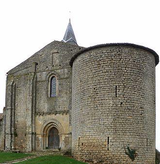 Château-Larcher - The church in Château-Larcher