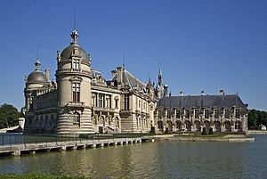 Château de Chantilly - Image: Château Chantilly 1