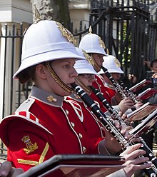Changing of the Guard - Royal Gibraltar Regiment clarinets.jpg