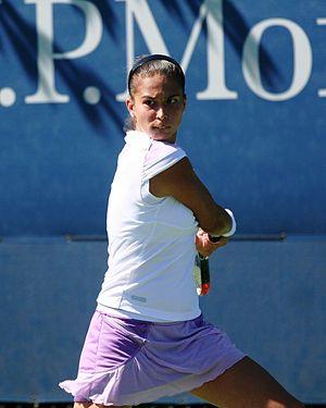 Chantal Škamlová - Chantal Škamlová at the 2010 US Open
