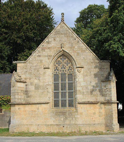 Chapelle Notre-Dame-de-Trescoët: façade sud