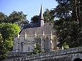 Chapelle du château d'Ussé vue des jardins.JPG