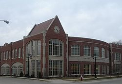 The Charles C. Meyer Library at the University of Dubuque