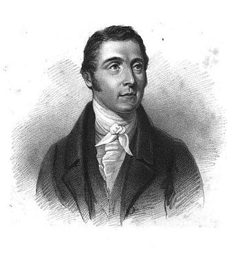 Charles Mills (historian) - Charles Mills, engraving after a bust by Robert William Sievier