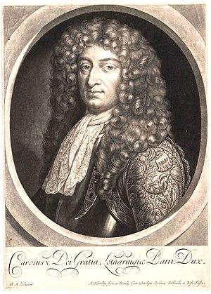 Charles V, Duke of Lorraine - Image: Charles V, Duke of Lorraine
