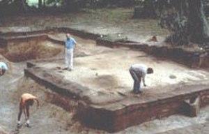 Charlesfort-Santa Elena Site - Fort Charles NE bastion