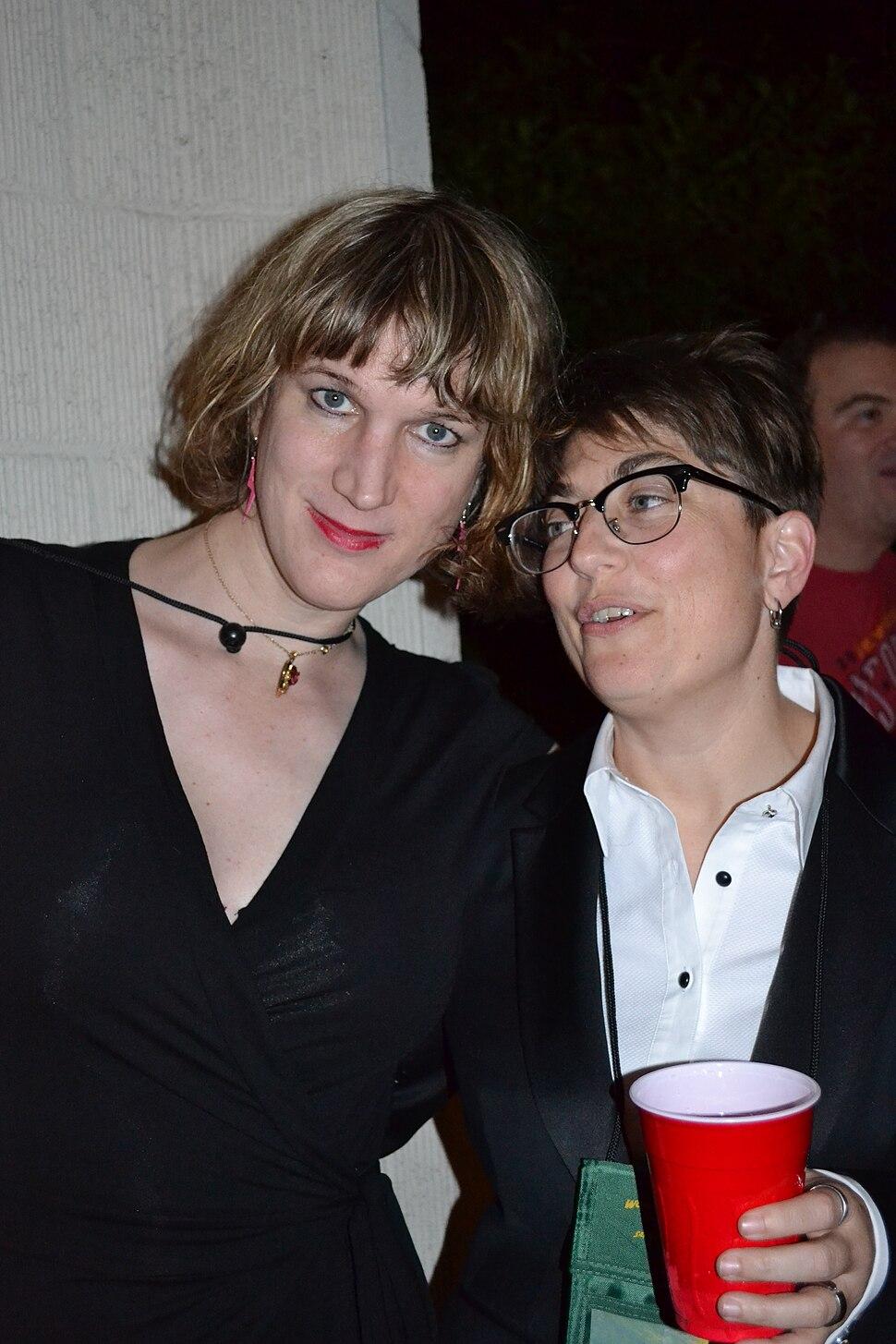Charlie Jane Anders and Annalee Newitz 2011