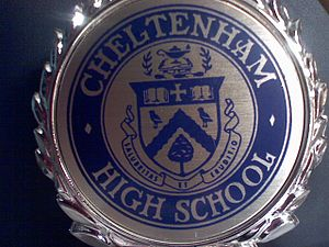 Cheltenham High School - The Logo of Cheltenham High School