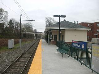 Cheltenham station (SEPTA) SEPTA Regional Rail station