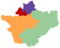 Cheshire showing four unitary authorities