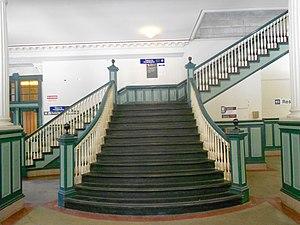 Chester Transportation Center - Image: Chester Transpo Center Stairway
