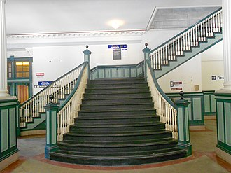 Chester Transportation Center - Image: Chester Transpo Center Stairway