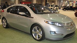Chevrolet Volt photographed at the 2009 Washin...
