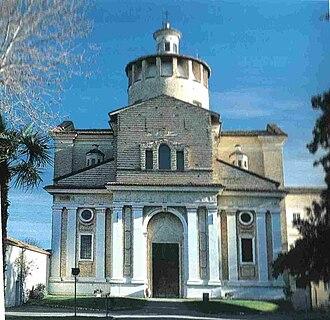 Certosa di Parma - Facade of the church of St Jerome.
