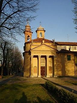 Chiesa della Madonna delle Grazie (Cherasco) - Province of Cuneo, Piedmont, Italy - 5 April 2008 - (1)