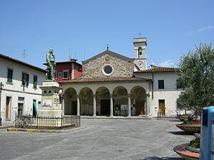 Peretola - Image: Chiesa di Santa Maria a Peretola 01