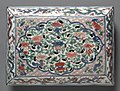 China, Jiangxi province, Jingdezhen kilns, Ming dynasty (1368-1644), Wanli - Box with Cover (lid) - 1966.117.b - Cleveland Museum of Art.jpg