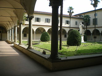 Michelozzo - Cloister of San Marco in Florence