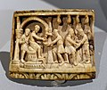 Christ before Pilate, probably Köln or Fulda, mid 11th century, ivory - Bode-Museum - DSC03620.jpg