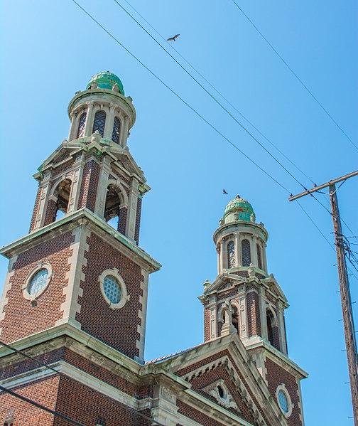 File:Church cupolas - Nativity of the Blessed Virgin Mary Church.jpg