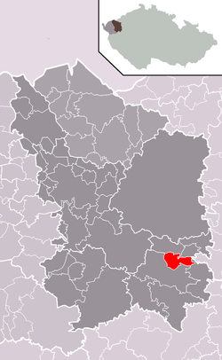 Location of Čichalov