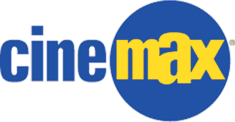 Cinemax - Third logo, used from August 1997 to 2008; used as a secondary logo from 2008 to 2010. A variant (sans the circle), was used secondarily from 2010 to 2011.