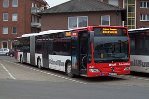 Mercedes-Benz Citaro - SchnellBus Citaro O530G in Münster in January 2008